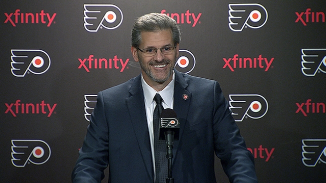 Ron Hextall on Flyers Moving Up in Lottery: 'It Changes Things a Lot'