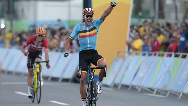 Belgian Greg Van Avermaet Takes Gold in Grueling Cycling Road Race