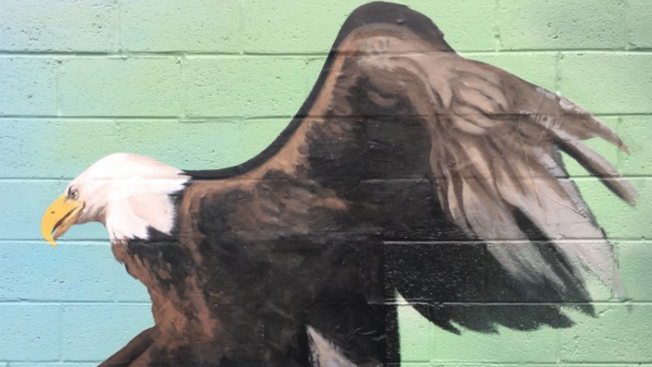 Philly Mural Shows Eagle Impaling Tom Brady