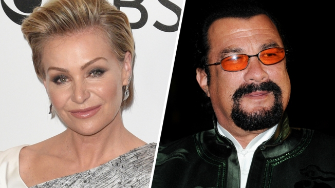 Portia de Rossi Says Steven Seagal 'Unzipped' His Pants During Audition