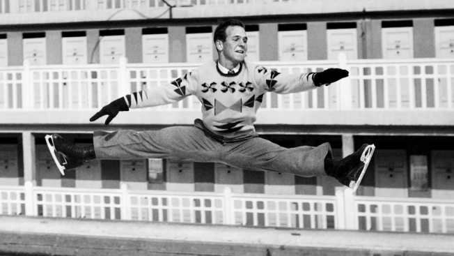 Meet American Dick Button, the Only Other Man to Win Back-to-Back Figure Skating Golds