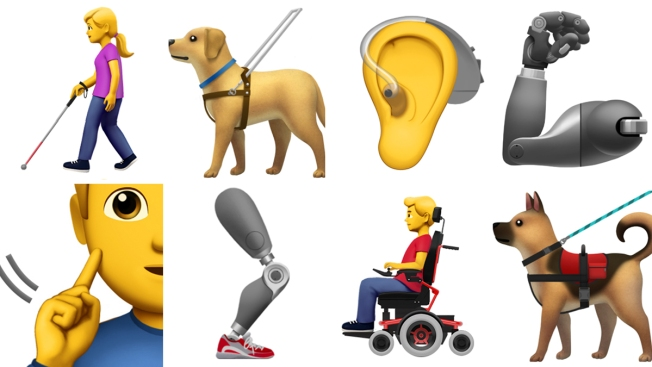 Apple-Backed New Emojis Representing People With Disabilities Coming Soon
