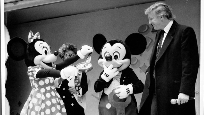 Donald Trump Joins Disney's Hall of Presidents
