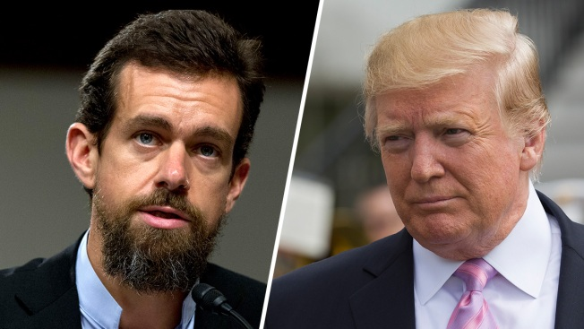 Trump Meets With Twitter CEO Jack Dorsey, Discusses 'Health of Public Conversation'