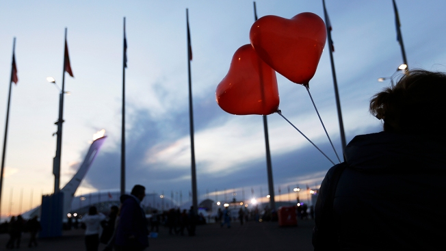 Valentine's Day in Sochi: Hearts Are Racing For Olympic Athletes