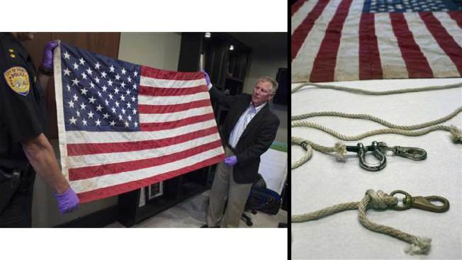 Iconic Ground Zero Flag Thought Lost Is Returning to NYC,