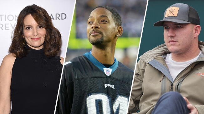 [PHOTOS]Who Is the Biggest Celebrity Eagles Fan?