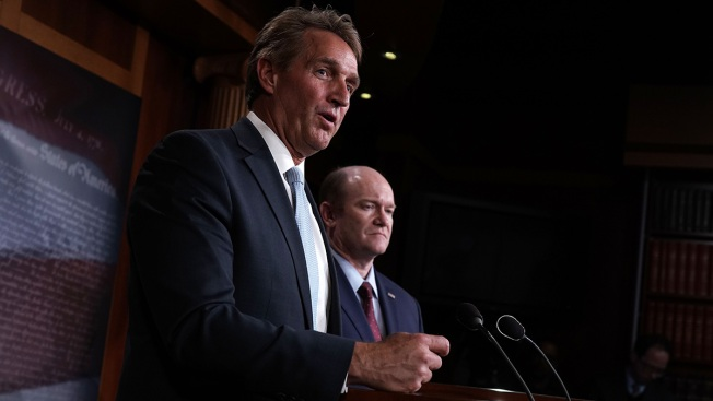Flake Vows to Oppose Judges Unless Mueller Bill Gets a Vote