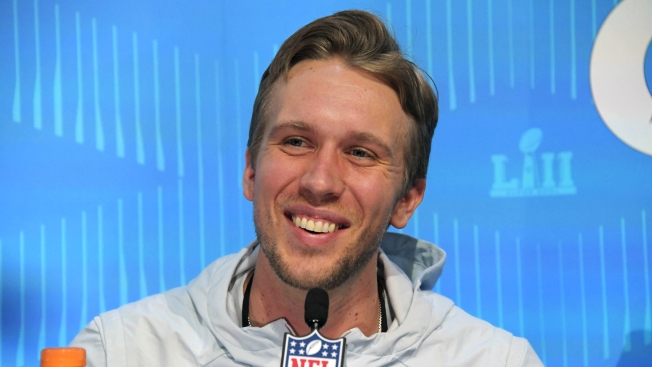 Nick Foles Like You've Never Seen Him Before