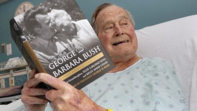 George HW Bush Leaving Hospital, Spokesman Says