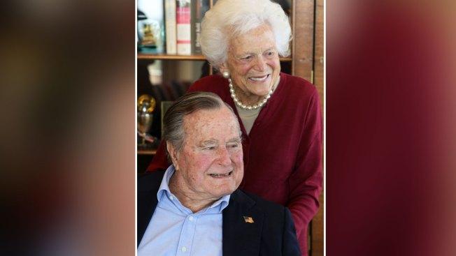 Former President George H.W. Bush Celebrates 93rd Birthday