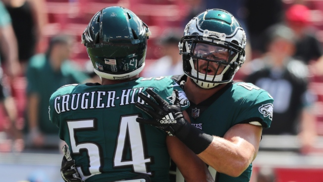 After 'Shocker' of a Cut, Eagles LB Group Is a Reminder of Volatility in the NFL