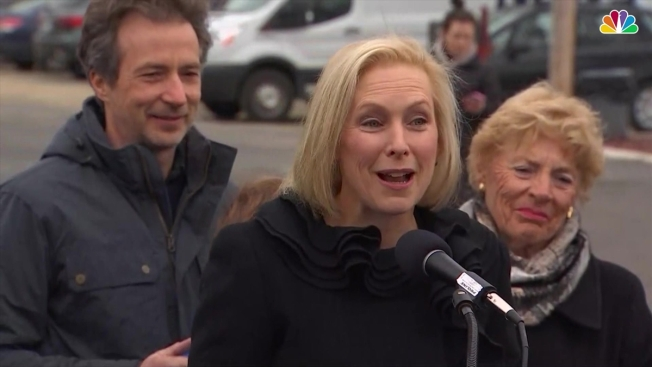 Presidential Hopeful Gillibrand Talks Up Bipartisan Successes During Iowa Trip