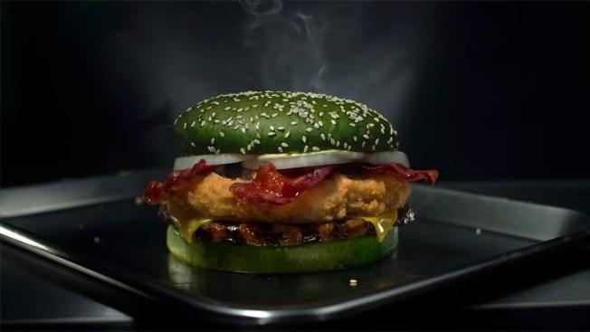 [NATL] Wildest Food Crazes: Burger King's Nightmare King, Popeyes' 24-Karat Gold Wings and More