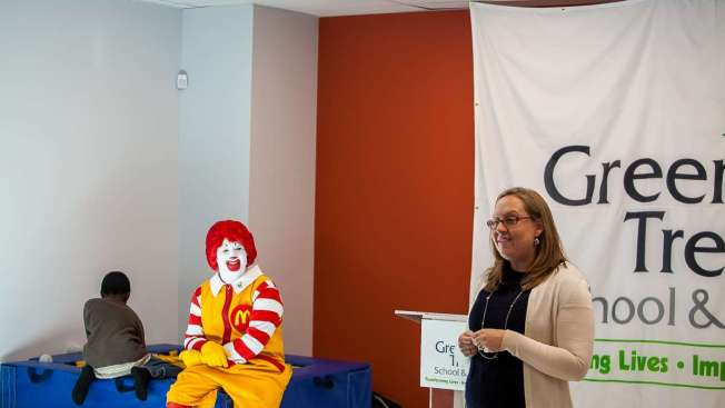 Green Tree School Uses 25K McDonald's Grant to Bolster Sensory-Therapy Program