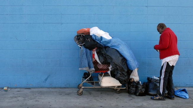 No Shelter for Nearly Half of Homeless