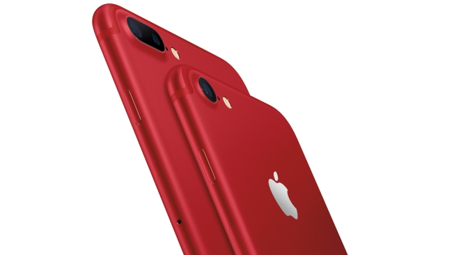 Apples unveils the new RED iPhone