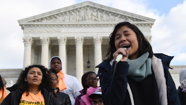 Justices Take Up High-Profile Case Over Young Immigrants