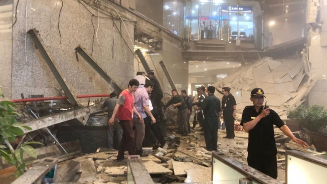 Mezzanine Collapse Inside Jakarta Tower Hurts Nearly 80