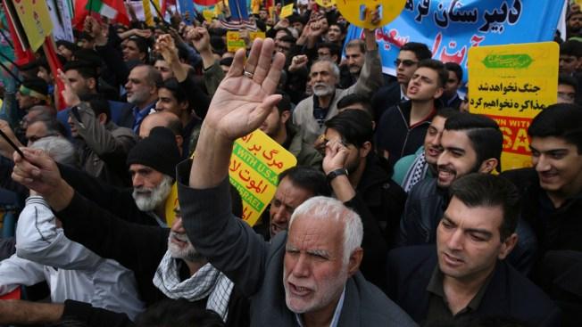 Iran President Warns of 'War Situation' as Sanctions Resume