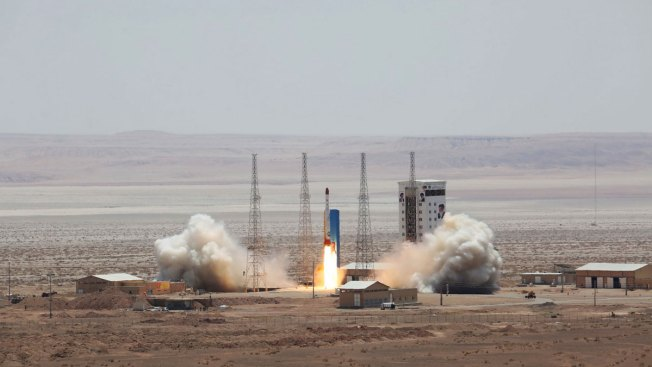 Iran Claims Launch of Satellite-Carrying Rocket Into Space