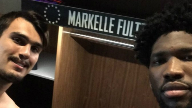 Is Joel Embiid Already Welcoming Markelle Fultz to Sixers?