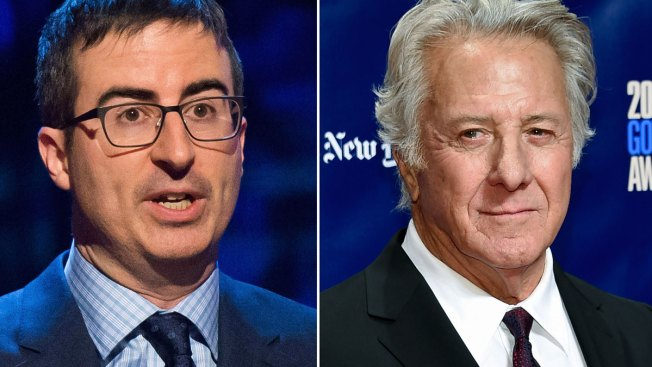 John Oliver Grills Dustin Hoffman on Sexual Misconduct Claim