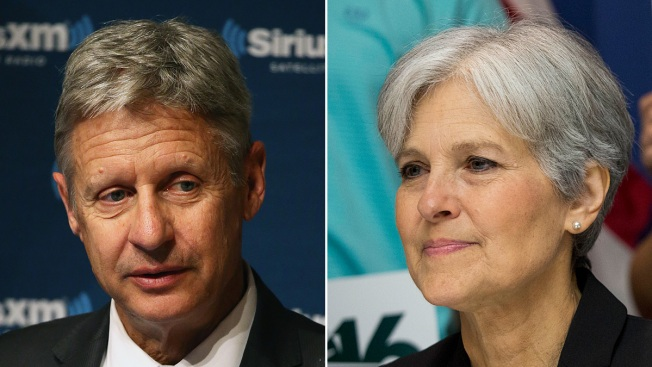 Gary Johnson, Jill Stein Fail to Qualify for First Presidential Debate