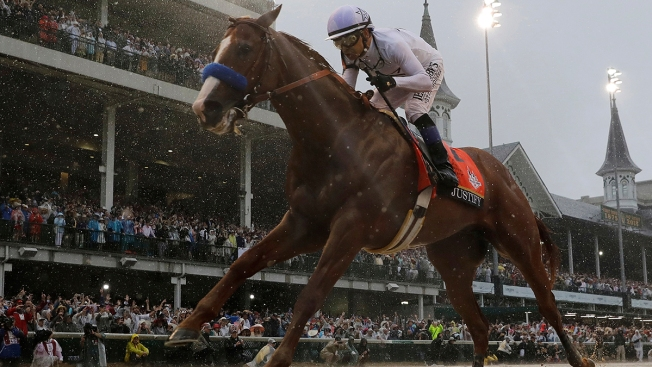 Justify Draws 7 Post, Is Heavy 1-2 Favorite for Preakness