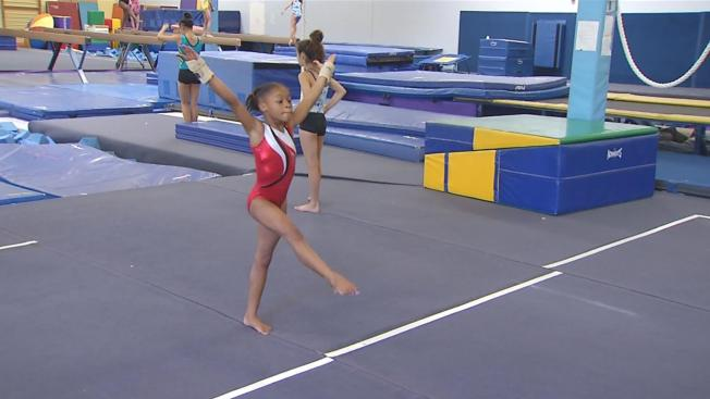 USA Gymnasts Prep For Trials, Inspire Younger Athletes