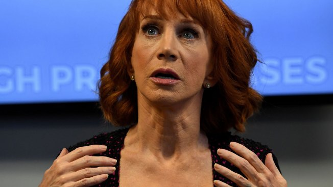 Kathy Griffin: Trump Photo Put Me on 'Hollywood Blacklist'