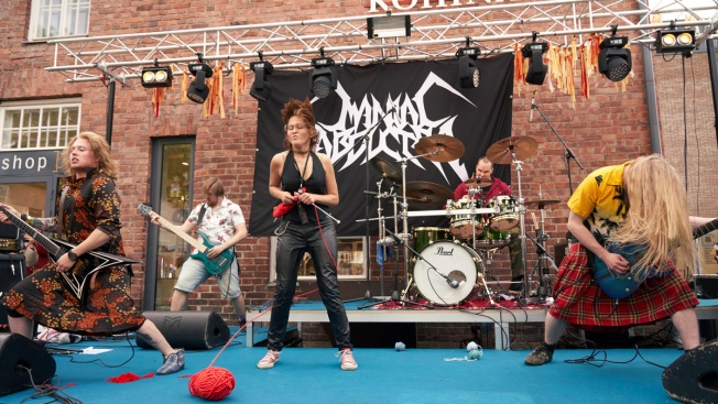 Purl Jam: Finland Hosts Heavy Metal Knitting Championship