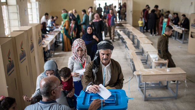 Kurdish Region in Iraq Votes Overwhelmingly for Independence