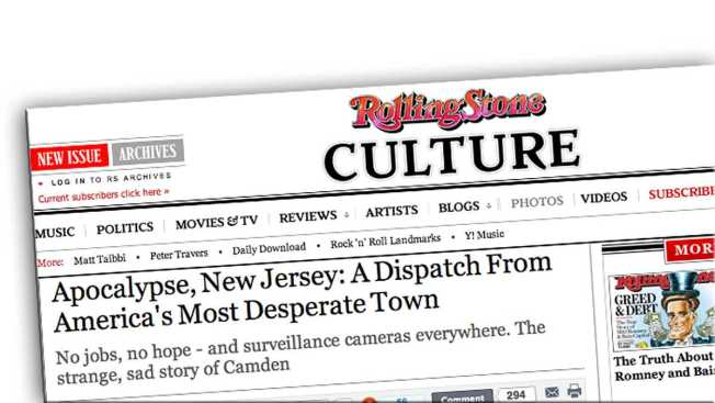 Rolling Stone's Camden Profile Just More 'Urban Porn'