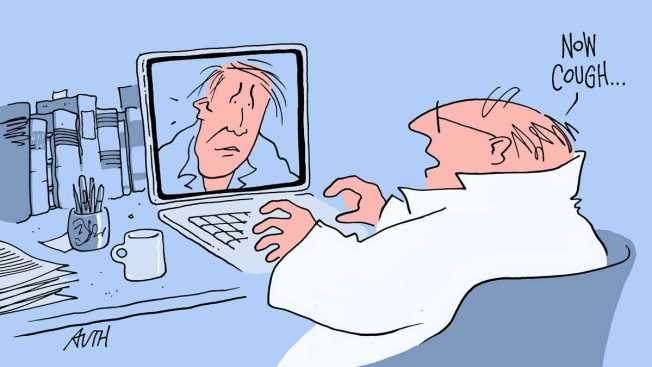In the World of Instant Communication, Some Doctors Add Skype to the Mix
