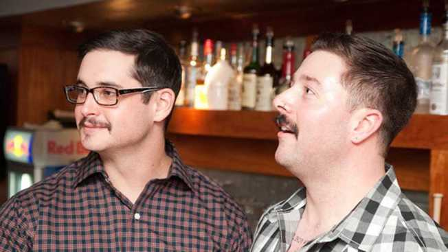 Mustaches Take Over Manayunk Bar