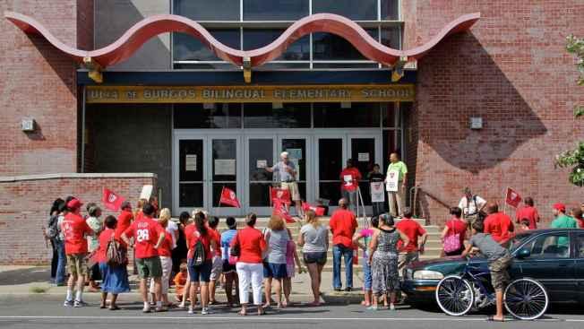 "Philly Teachers to Corbett: ""We Will Not Settle"""