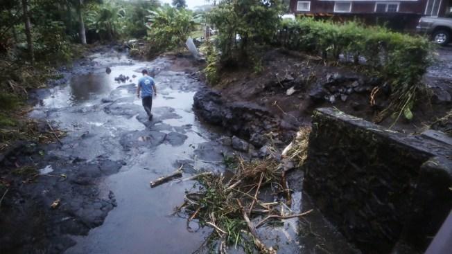 Tropical Storm Lane Damage Assessment Underway