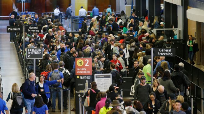 Travelers Brace for Long Security Lines at Airports