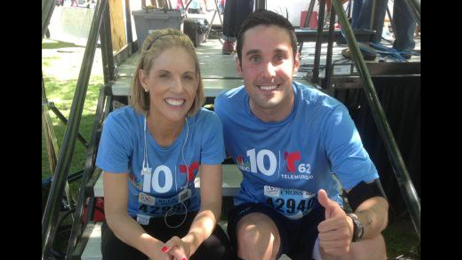 Blue Cross Broad Street Run Team NBC10 Social Posts