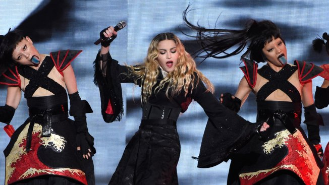 In Philadelphia, Madonna Gives 'Popey-Wopey' Her Blessing