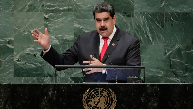As Pressure Grows, Venezuela's Maduro Addresses UN