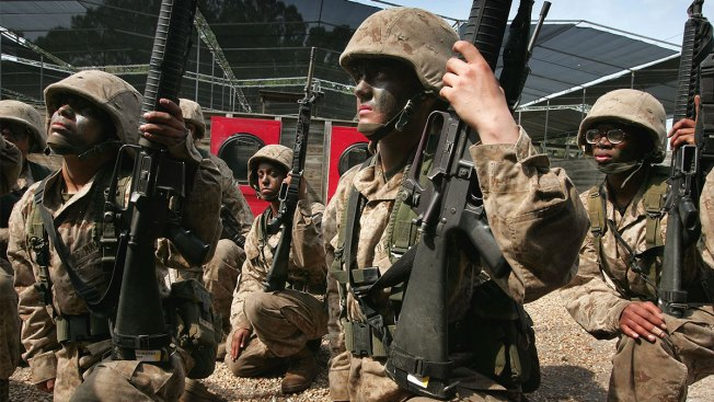 In a First, Women Marines Will Be Training Alongside Men at a Boot Camp