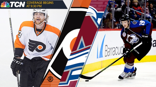 Flyers-Avalanche 5 Things: Taking Shot at Best Streak in 31 Years