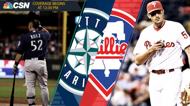 Phillies-Mariners 5 Things: Zach Eflin to Face Seattle's B-team