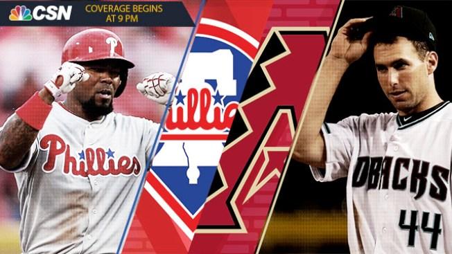 Arizona Diamondbacks vs. Philadelphia Phillies