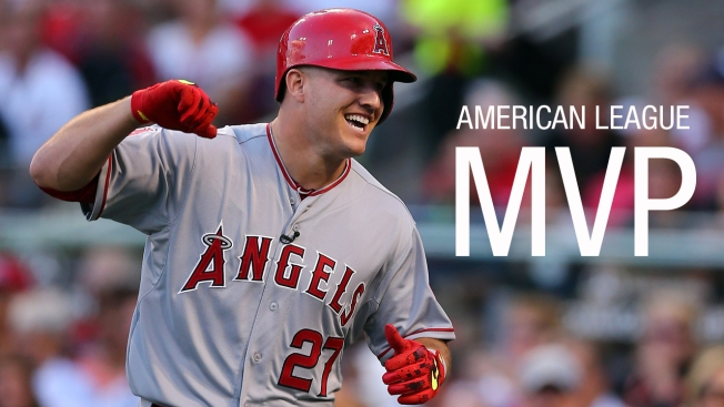 Angels' Mike Trout Named 2016 American League MVP