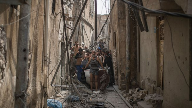Women Suicide Bombers Strike Mosul