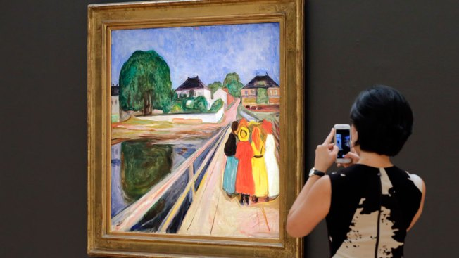 Edvard Munch Painting Fetches $54M at Sotheby's Sale in NYC