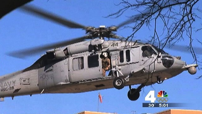 2 Dead in Navy Helicopter Crash Off Va. Coast